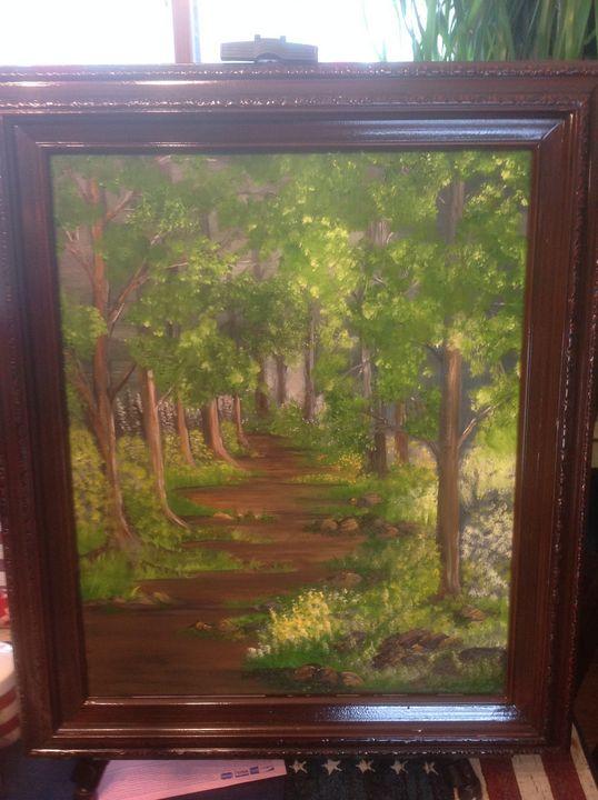 Path in the woods - Suzy's Studio