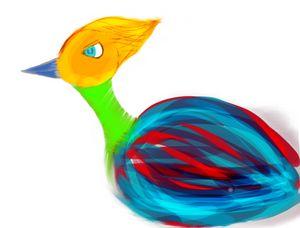 Origin bird