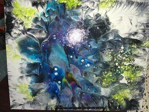 Dip Acrylic Paintings