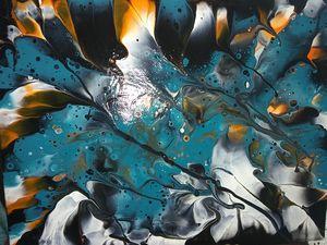 Acrylic Dip Painting