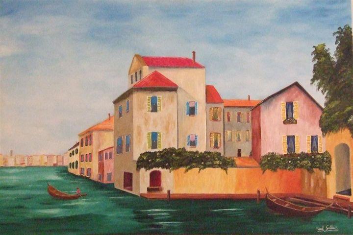 Water City - Noel's ART Gallery