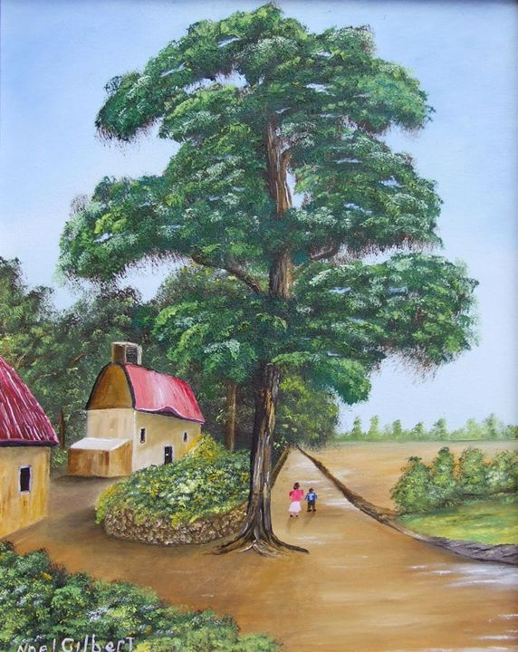 English Country Side - Noel's ART Gallery