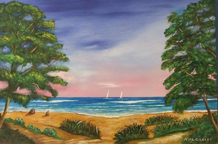 Distant-sails - Noel's ART Gallery