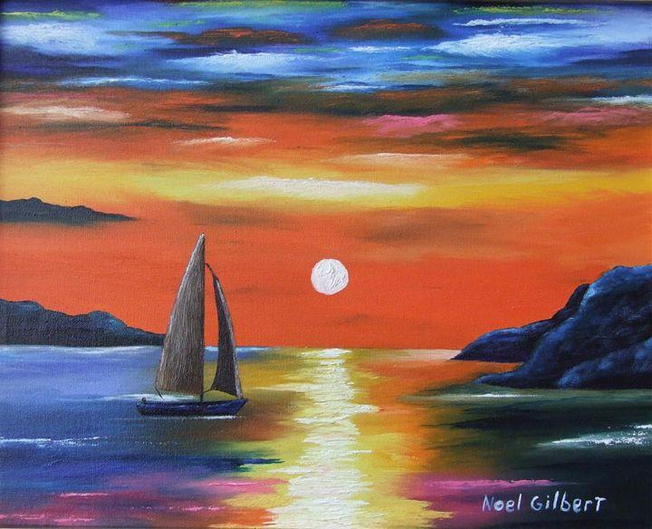 Magic-Evening - Noel's ART Gallery