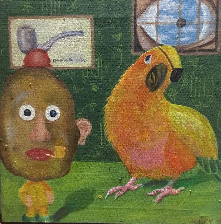 Mr Potato Head and Friend - Tucky Fussell