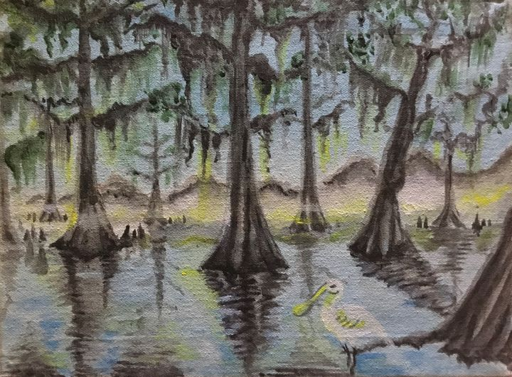 Everglades, Almost Deserted - Tucky Fussell