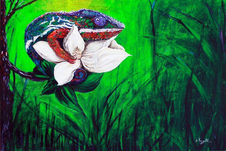 Hidden Treasures: Chameleon - j.lazell