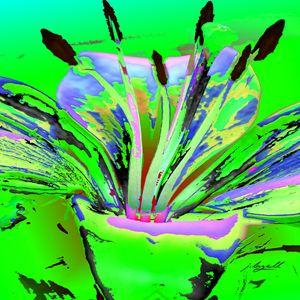 Lily Pop Green - j.lazell