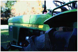 J Deere Pop Art II by j.lazell - j.lazell