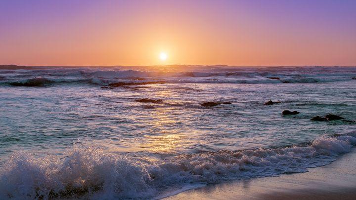 Summer Sunset - Work by Noe