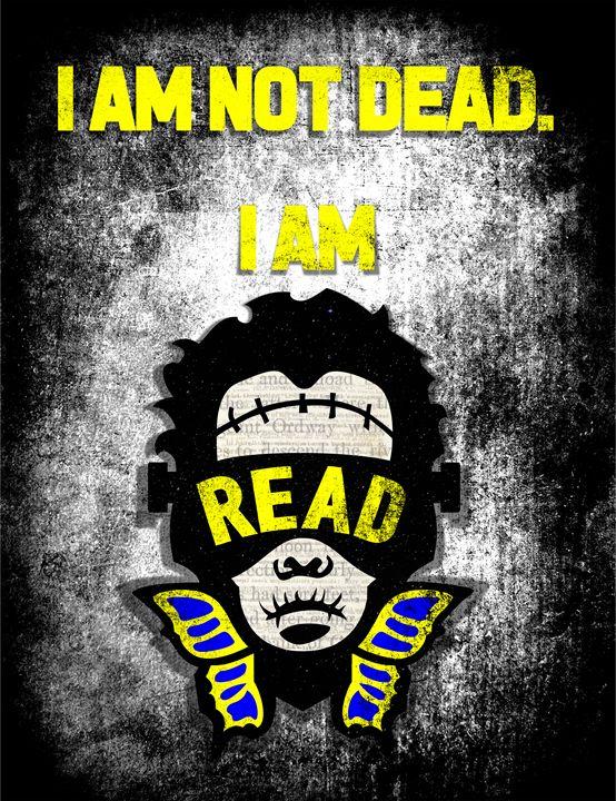 I AM READ, FRANKENSTEIN - IAMREAD