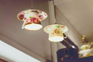 Fine Art Tea cup lights