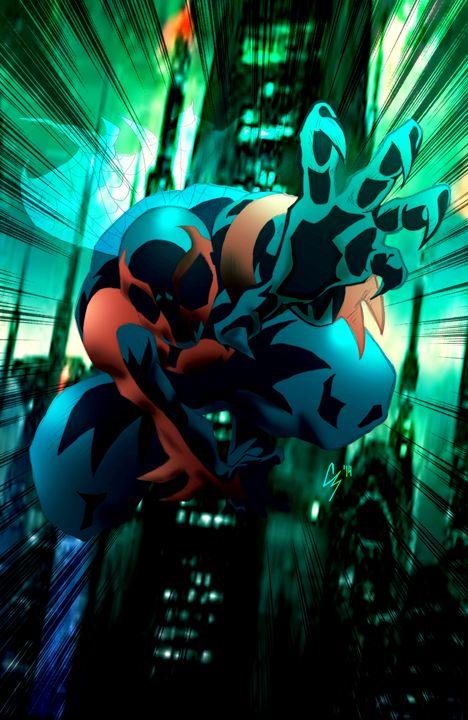 Spider-man 2099 - Chadderbox Studio