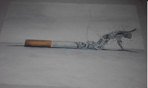 cigarette is a killer evil
