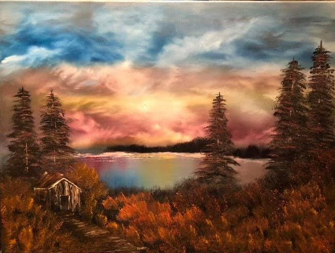 Colorful Sky - D&J Arts and Crafts