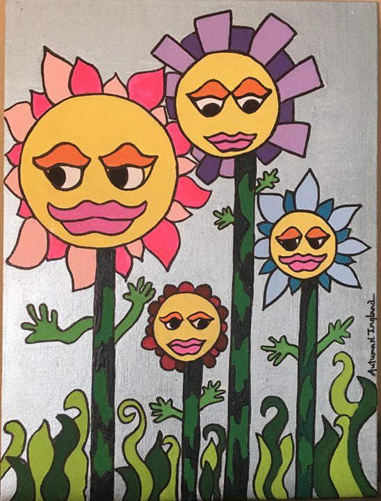 Psychedelic-Fleurs - Autumn N. Ingland