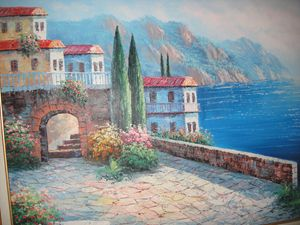 Italian coastline  by Kent Wallis