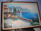 Italian coastline by kent wallis