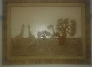 Girrafe collage