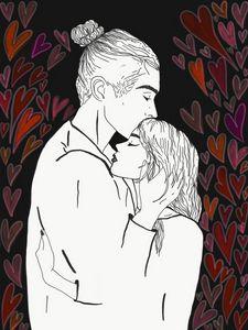 the kiss-rain