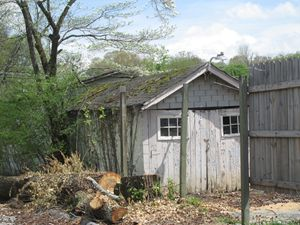 Old work shed
