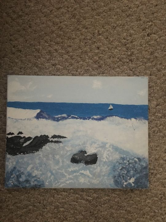 Big Island surf - Francetta's Art