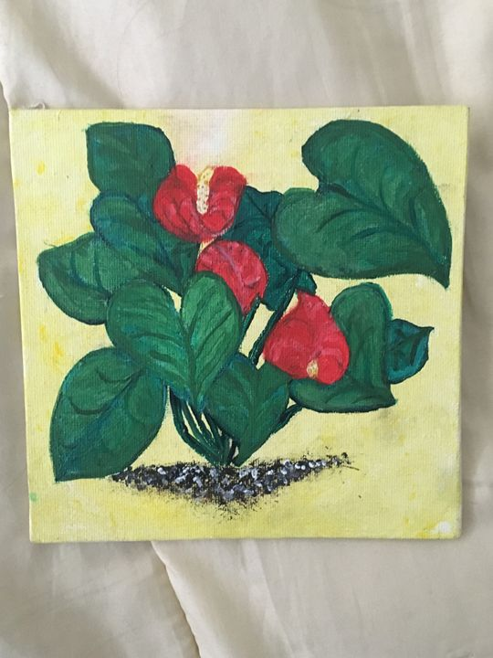 Antheriums - Francetta's Art