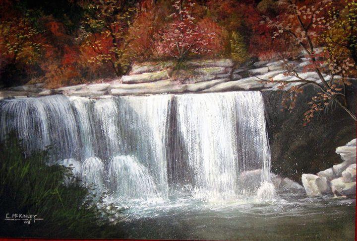 cumberland falls - wildlife in watercolor