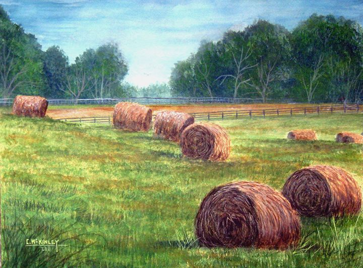kentucky roll your owns - wildlife in watercolor