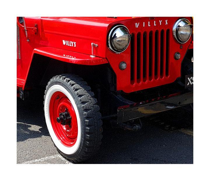 Red Willys - Matt Riceman