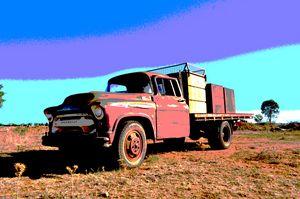Chevvy Morella Fire Truck