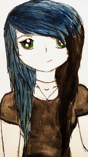 Anime Girl - Kylie's Art