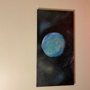 Baby Blue planet