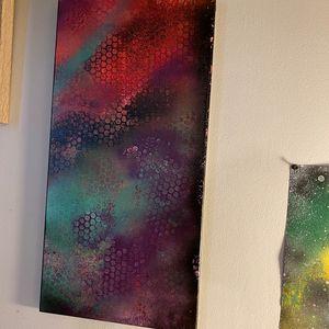 Multicolor Galaxy Abstract
