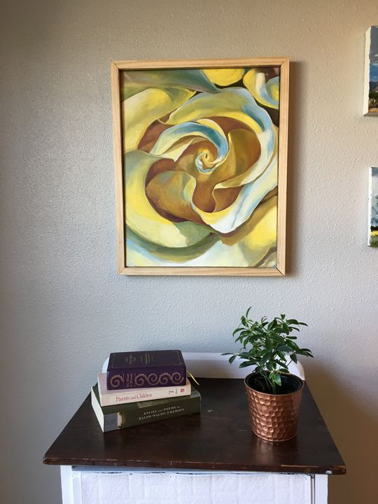 Yellow Rose - Amber Jimerson Artist