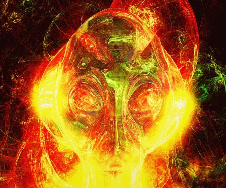 Alien God by Raphael Terra - Esoterica Art Agency