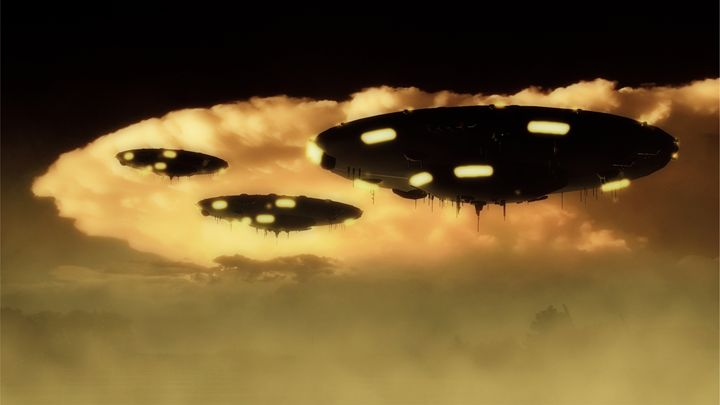 UFO Invasion Force by Raphael Terra - Esoterica Art Agency