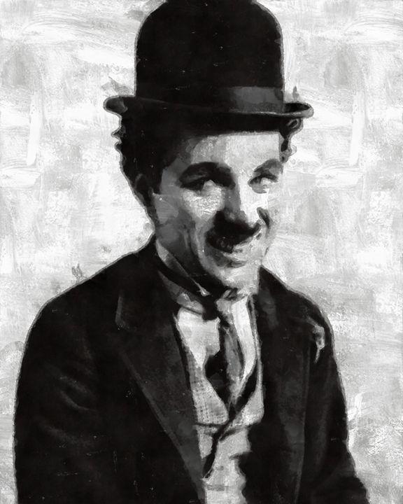 Charlie Chaplin by Mary Bassett - Esoterica Art Agency