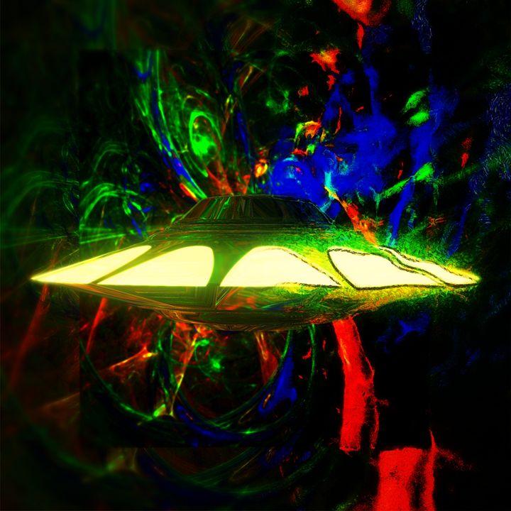 Alien Art by Raphael Terra - Esoterica Art Agency