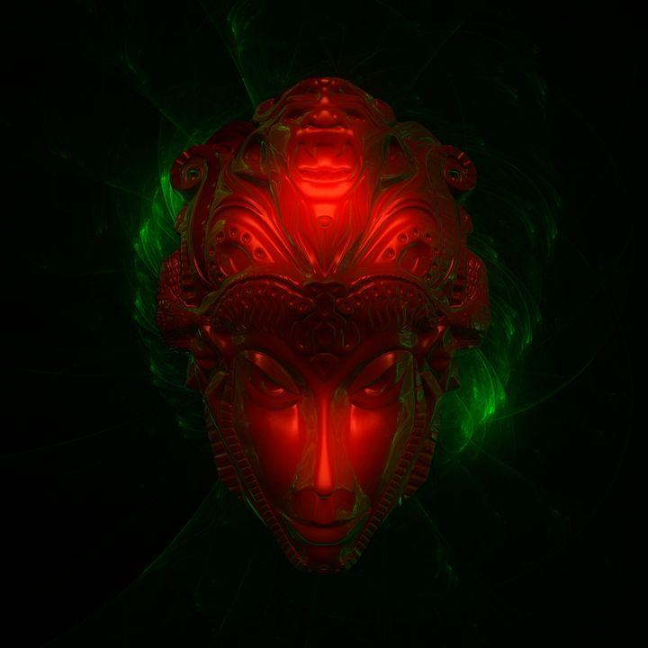 Alien Goddess by Raphael Terra - Esoterica Art Agency