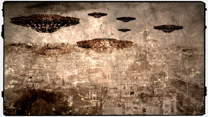 Antique Aliens by Raphael Terra - Esoterica Art Agency