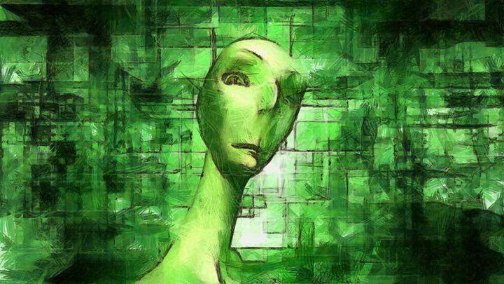 Alien Matrix by Raphael Terra - Esoterica Art Agency