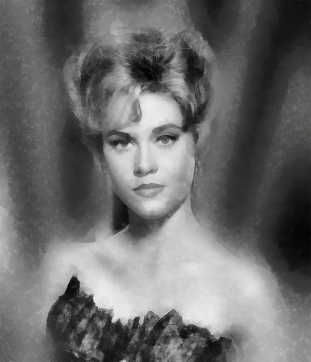 Jane Fonda by John Springfield - Esoterica Art Agency