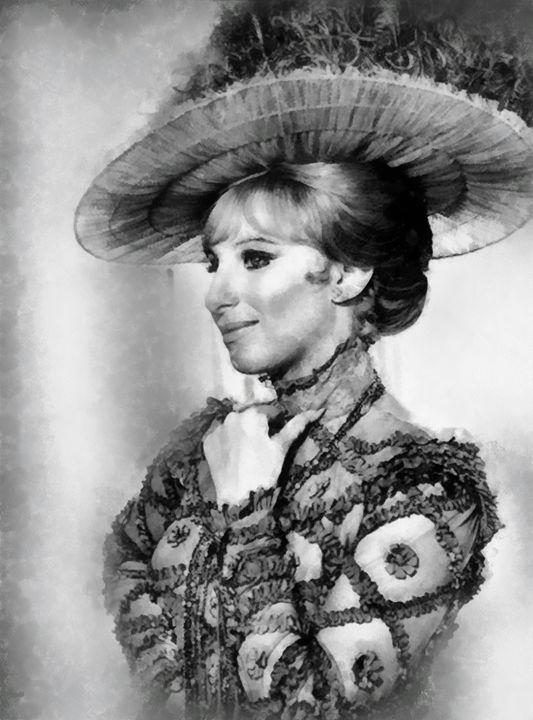 Barbara Streisand by J Springfield - Esoterica Art Agency