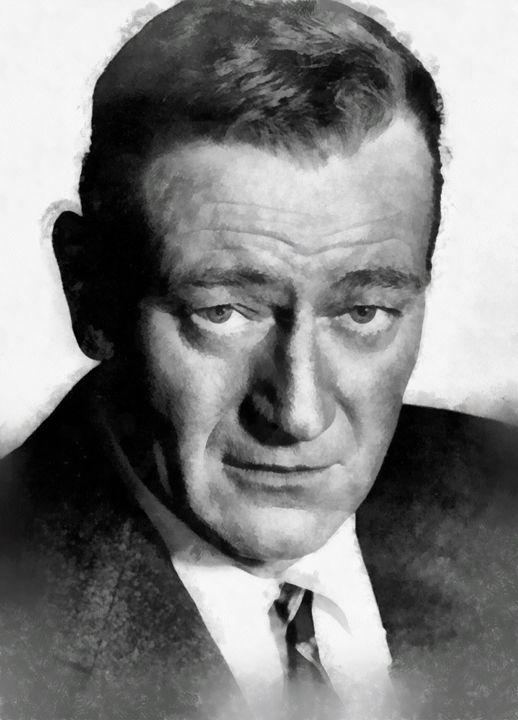 John Wayne by John Springfield - Esoterica Art Agency