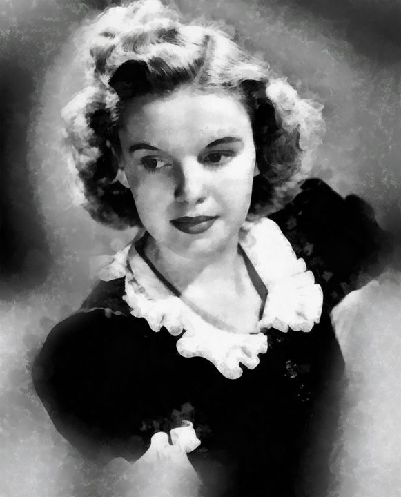Judy Garland by John Springfield - Esoterica Art Agency
