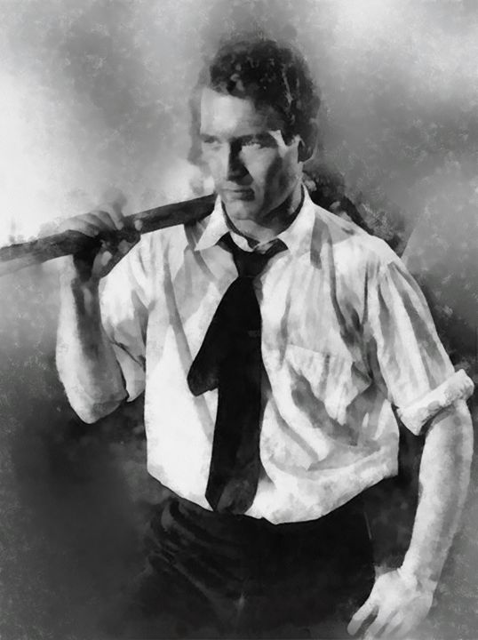 Paul Newman by John Springfield - Esoterica Art Agency