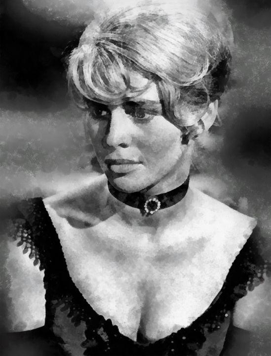 Julie Christie by John Springfield - Esoterica Art Agency