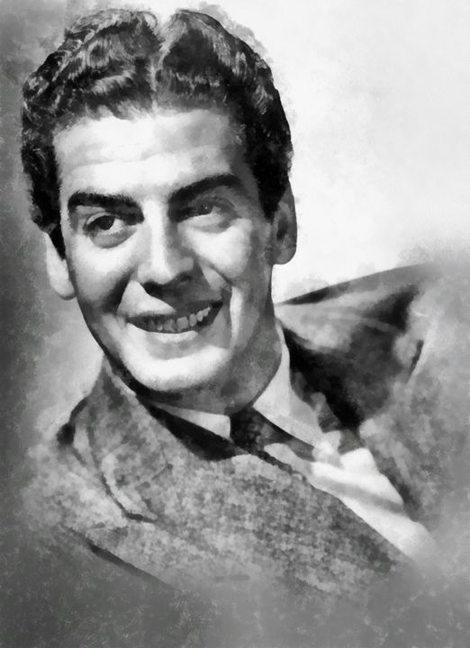 Victor Mature by John Springfield - Esoterica Art Agency