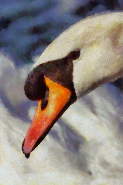Soul Swan by Pierre Blanchard - Esoterica Art Agency